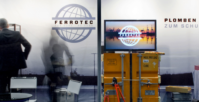 Ferrotec Messestand