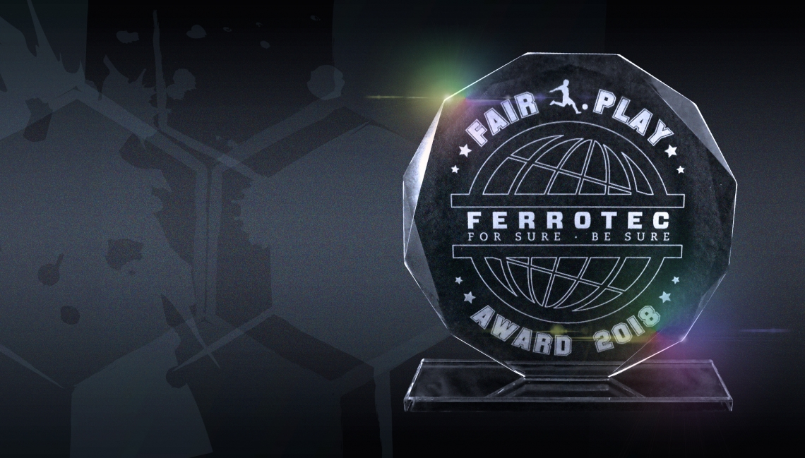 Ferrotec Fair Play Award 2018