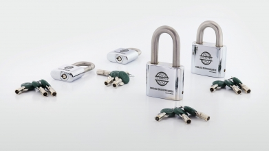 Padlock Brass Business